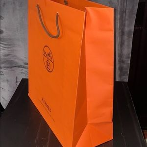 Hermes collectible shopping bag